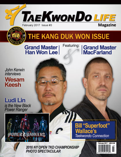 Special Kang Duk Won issue of Taekwondo Life magazine. Order your copy here
