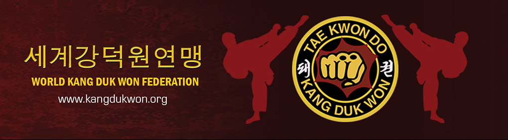 World Kang Duk Won Federation banner